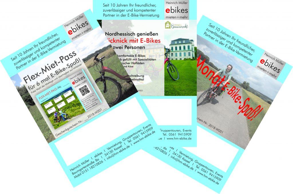Verschenken Sie E-Bike-Spass! | Heinrich Müller ebikes mieten+mehr